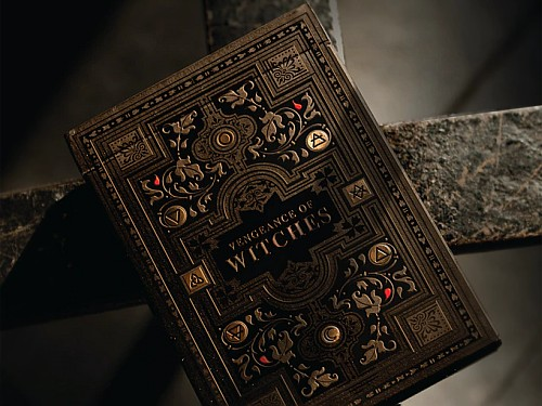 Vengeance of Witches playing cards