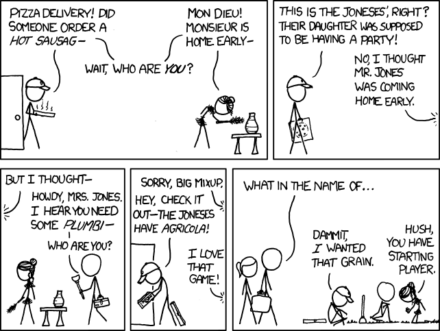 Agricola In Latest Xkcd  Agricola  Boardgamegeek-5794