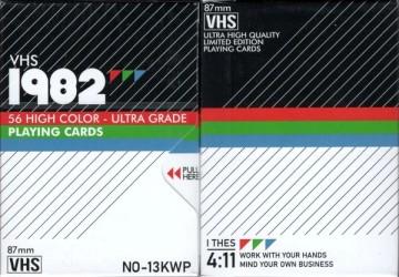 VHS 1982 deck
