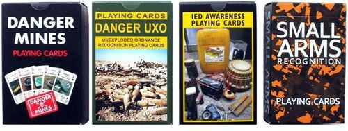 Playing Cards as Weapons of War