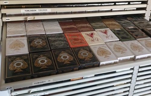 playing card collection