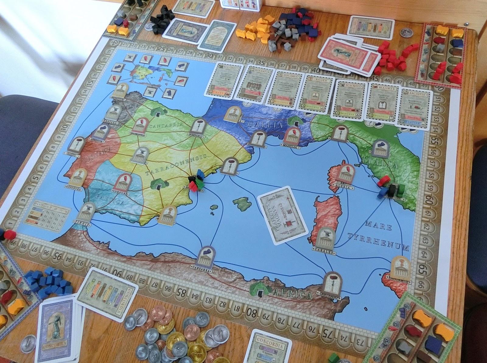 New Concordia Map: Spain | Concordia | BoardGameGeek