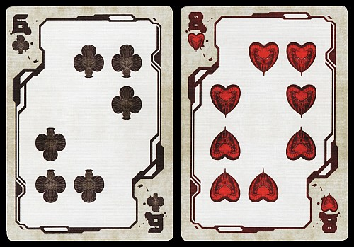 Cybertech Playing Cards