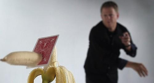 Playing Card Throwing