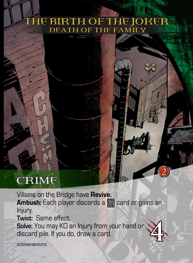 Legendary DC: Gotham Nights - Finished!!!! | Legendary: A