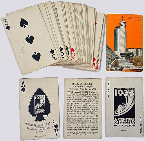 1933 playing cards