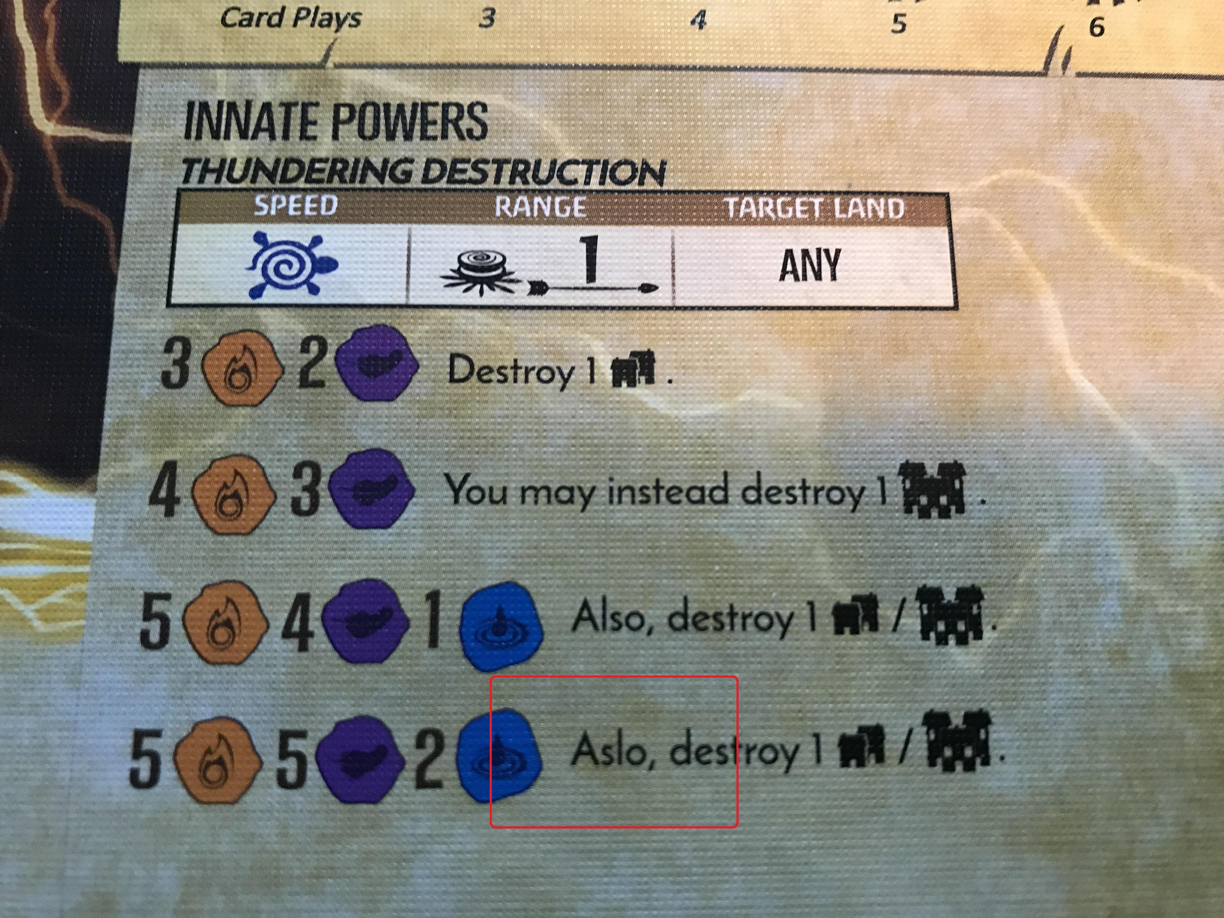 4th printing progression card misprints | Spirit Island | BoardGameGeek
