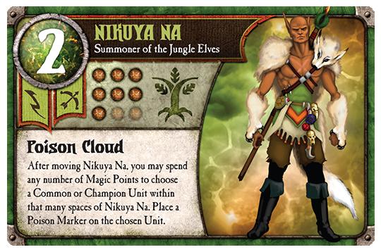A wee run Through: Nikuya Na, na na, na Na na na… Jungle Elves Second  Summoner. | BoardGameGeek