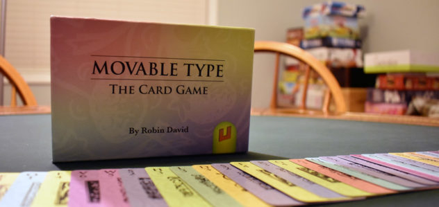 Movable Type: A One Board Family Review | Movable Type | BoardGameGeek