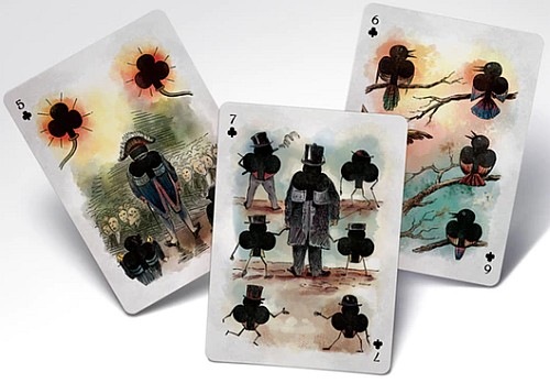 motley pack playing cards