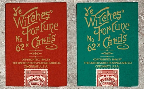 Ye Witches Fortune Telling Cards (1896)