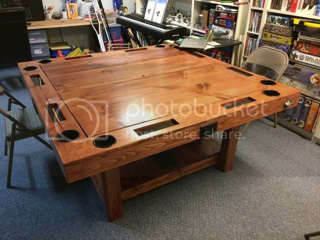 Build A Gaming Table For 150 Boardgamegeek