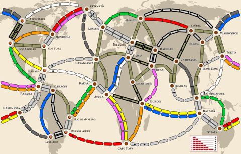 Ticket To Ride Asia Map.Ticket To Ride Map Design Contest Here There And Everywhere
