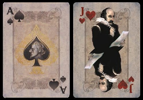 Romeo & Juliet playing cards