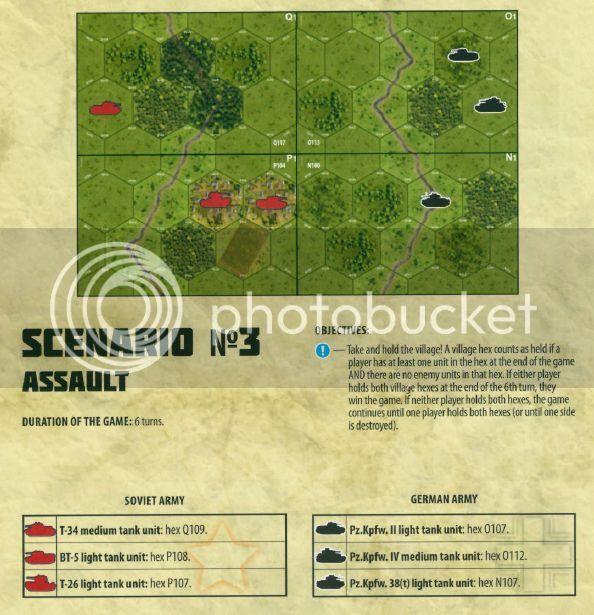 Battle report for Tank Combat Scenario 3: Assault | World War II