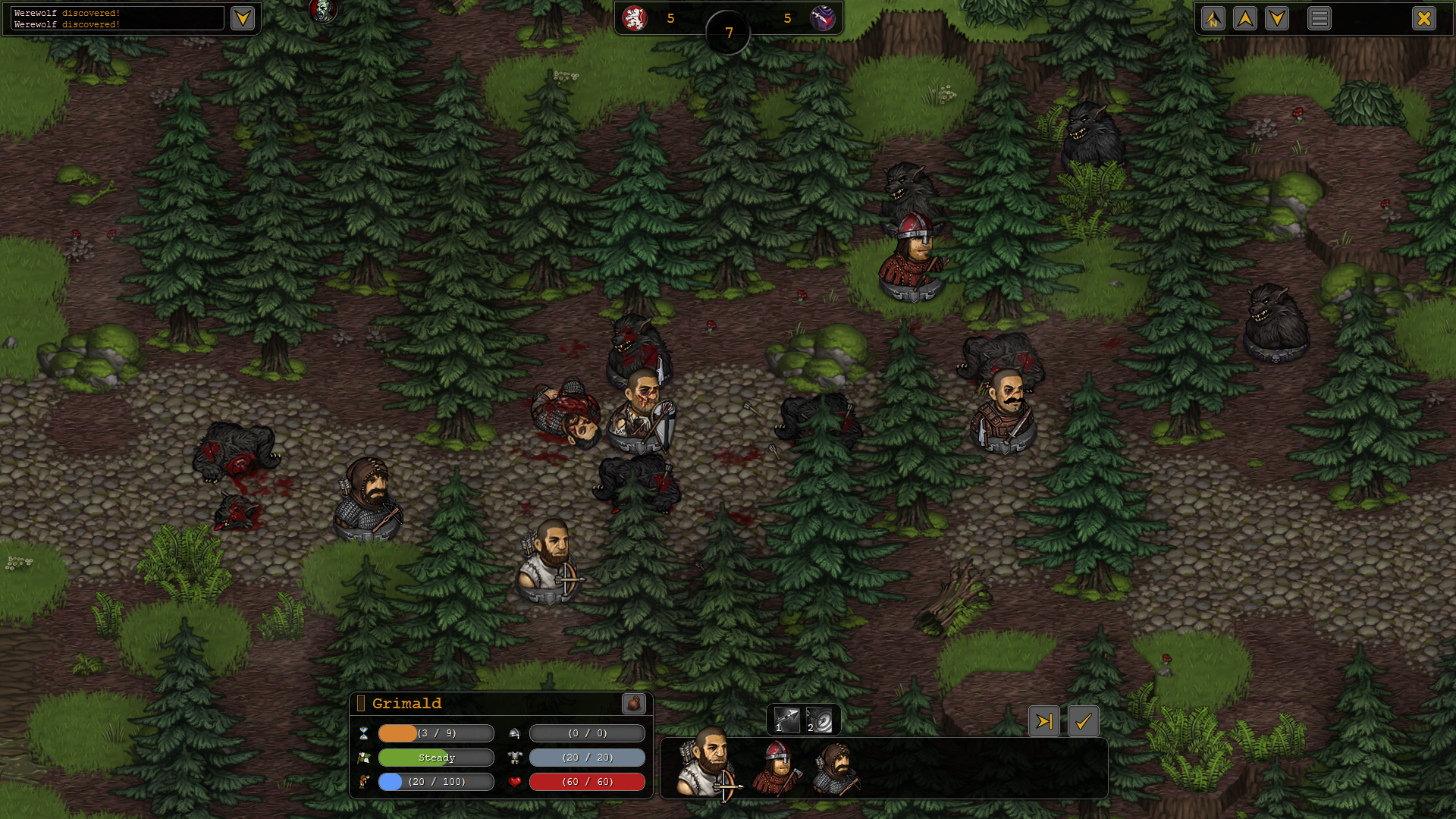 Battle Brothers - Jagged Alliance meets X-Com in gritty low