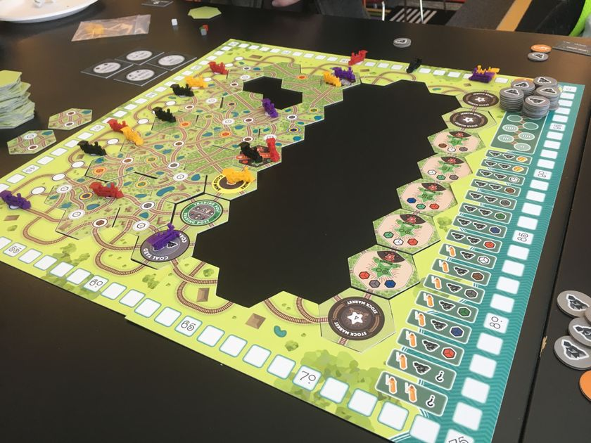 how to play whistle stop board game