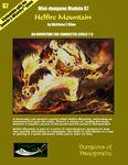 RPG Item: Mini-Dungeon Module G7: Helfire Mountain