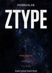 Video Game: ZType