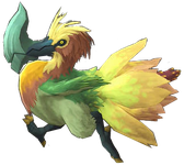 Character: Axe Beak