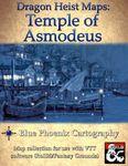 RPG Item: Dragon Heist Maps: Temple of Asmodeus