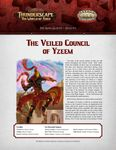 RPG Item: The Aden Gazette Issue No. 09: The Veiled Council of Yzeem (Savage Worlds)