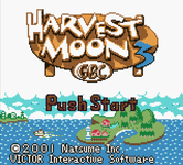 Video Game: Harvest Moon 3 GBC