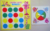 Board Game: Candyland Bingo