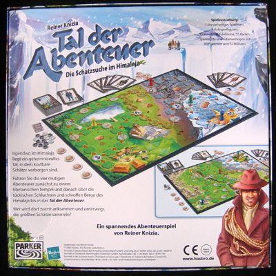 Board Game: Tal der Abenteuer: Die Schatzsuche im Himalaja