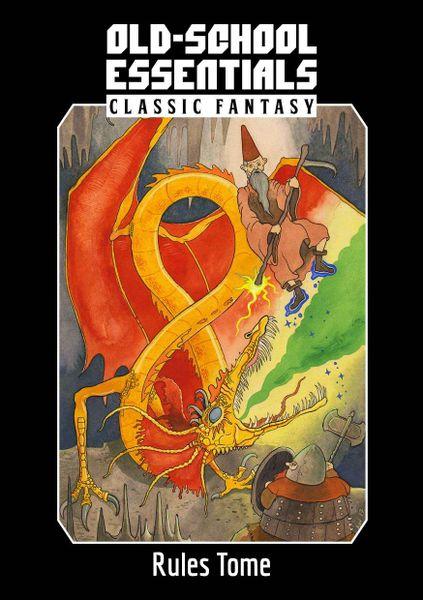 Old-School Essentials Classic Fantasy Rules Tome