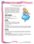 RPG Item: Costume Fairy Adventures Quickstart Edition Playbook: Leticia Redleaf