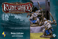 Board Game: Runewars Miniatures Game: Rune Golems – Unit Expansion
