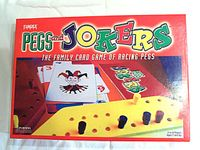 Board Game: Pegs and Jokers