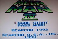 Video Game: Mega Man IV