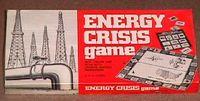 Board Game: Energy Crisis Game