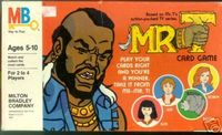 Board Game: Mr. T Card Game