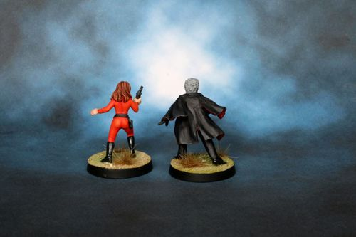 Board Game: Doctor Who Miniatures Game