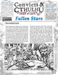 RPG Item: Convicts & Cthulhu: Ticket of Leave #12: Fallen Stars