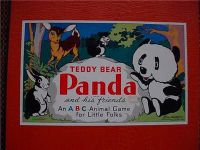 Board Game: Teddy Bear Panda and His Friends