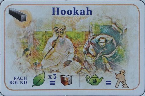 Board Game: Alubari: A Nice Cup of Tea – Hookah Promo Card