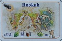Board Game: Alubari: A Nice Cup of Tea – Hookah Promo Card