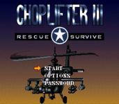 Video Game: Choplifter III: Rescue Survive