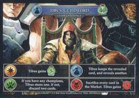 Board Game: Hero Realms: Tibus, Guild Lord Promo Cards