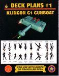 RPG Item: Deck Plans #1: Klingon G1 Gunboat