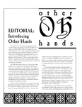 Issue: Other Hands (Issue 1 - Apr 1993)