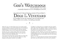 RPG Item: God's Watchdogs