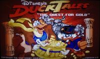 Video Game: DuckTales: Quest for the Gold