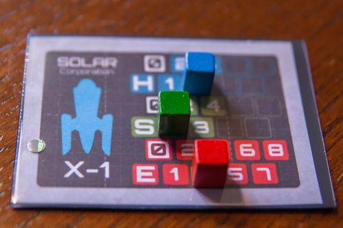 Board Game: Rocketships to Eos