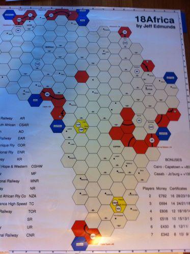 Board Game: 18Africa
