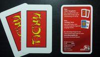 Board Game Accessory: Tichu: Ansagekarte